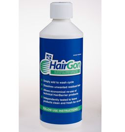 How to wash HairBarrier products with HairGon